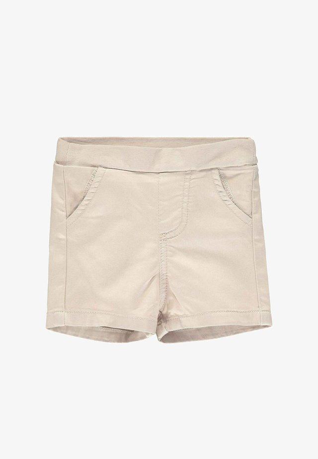 STEIFF COLLECTION SHORTS MIT TEDDYBÄRMOTIV - Shorts - oxford tan