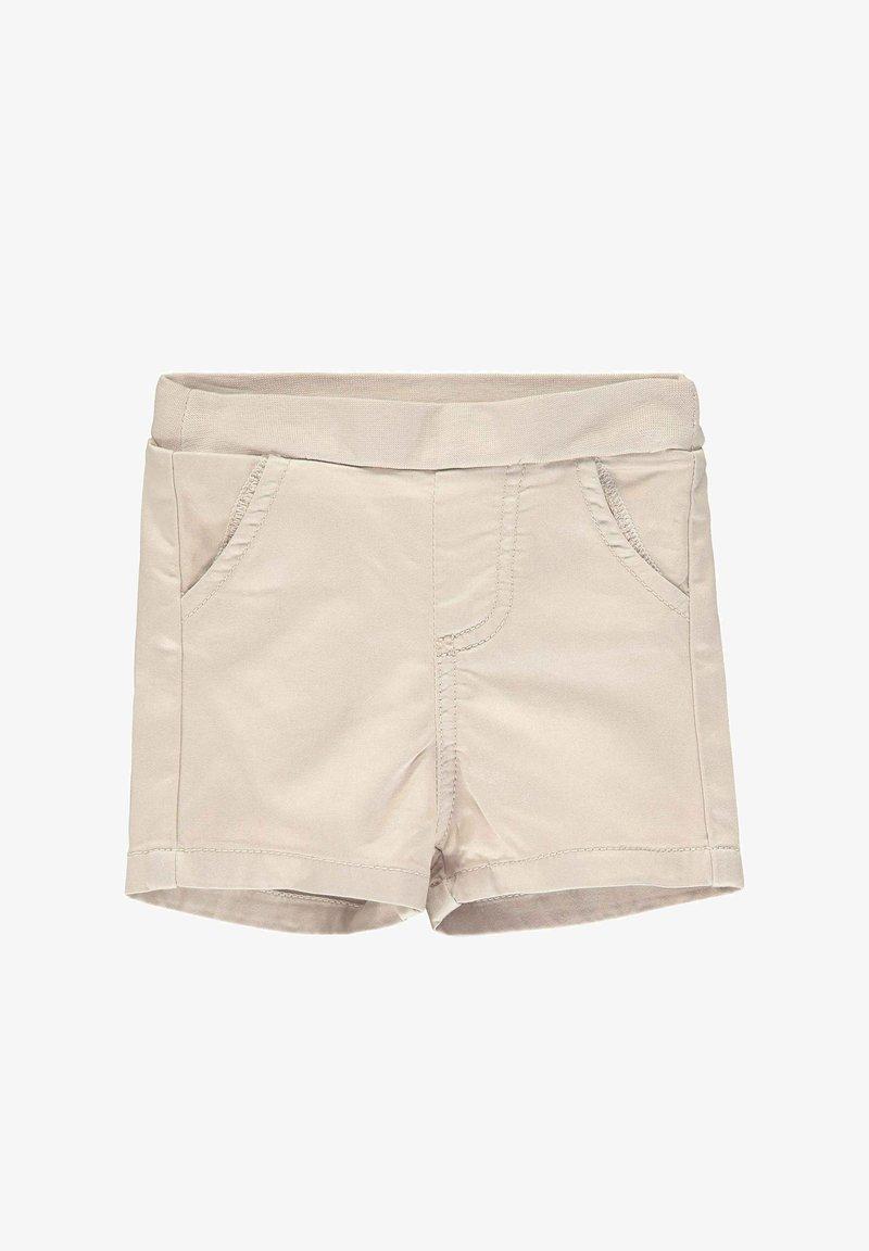Steiff Collection - STEIFF COLLECTION SHORTS MIT TEDDYBÄRMOTIV - Shorts - oxford tan