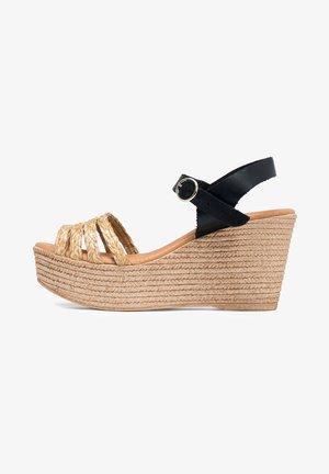 Sandalias de cuña - 802