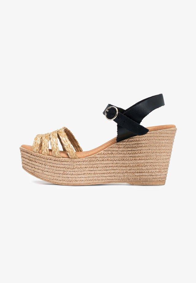 Sandales compensées - 802