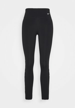 ONE TAPING - Leggings - black/white