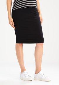 New Look Maternity - Spódnica ołówkowa  - black - 0