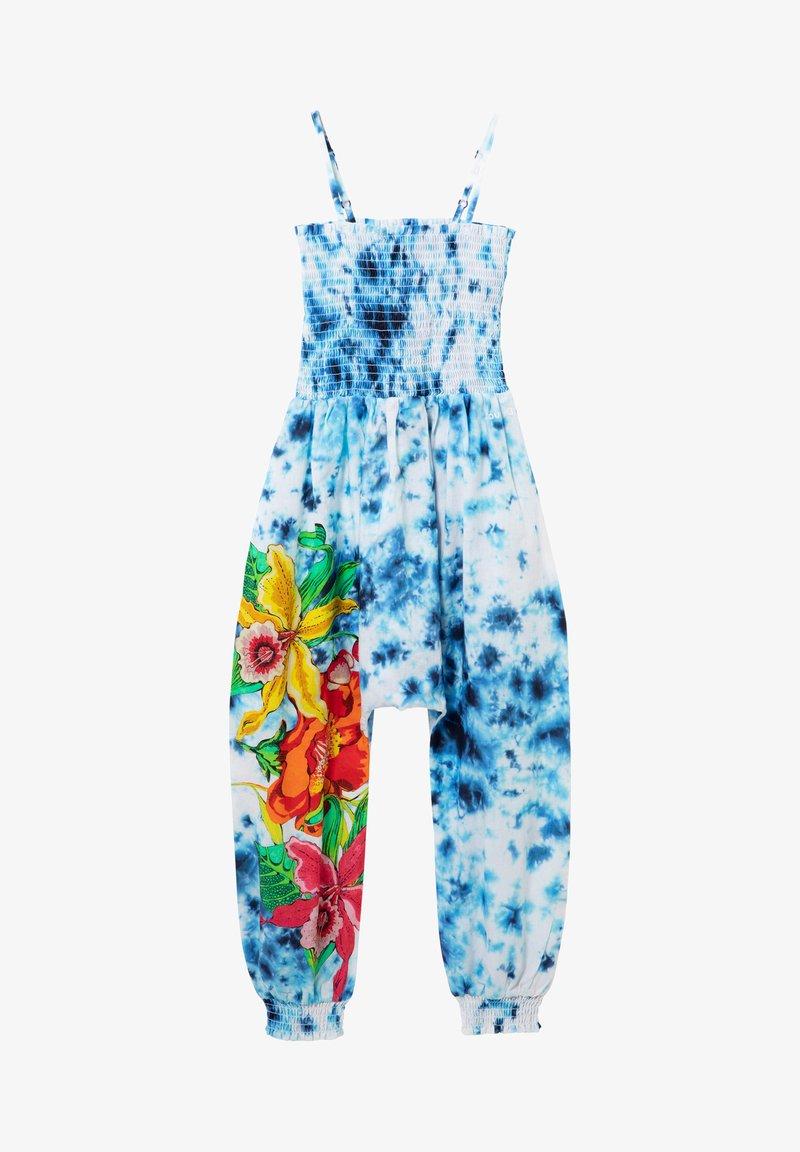 Desigual - PASSIFLORA - Jumpsuit - blue