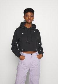 Hollister Co. - FLORAL ICON - Sweatshirt - black - 0