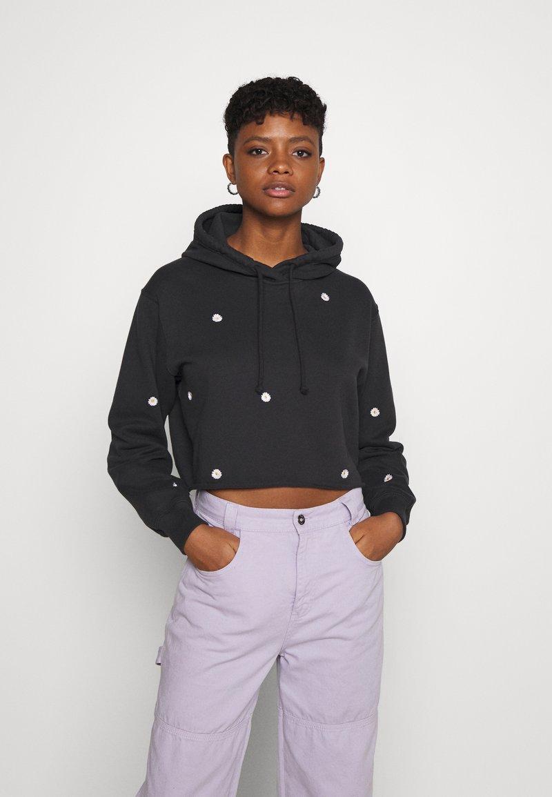 Hollister Co. - FLORAL ICON - Sweatshirt - black