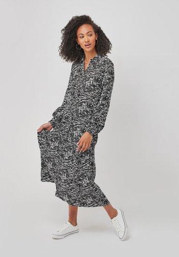 Shirt dress - black/white
