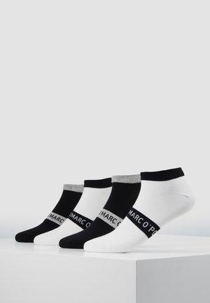 M-SNEAKER 4-PACK - Socks - black - white