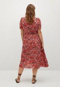 Violeta by Mango - PAPER-I - Day dress - corail - 2