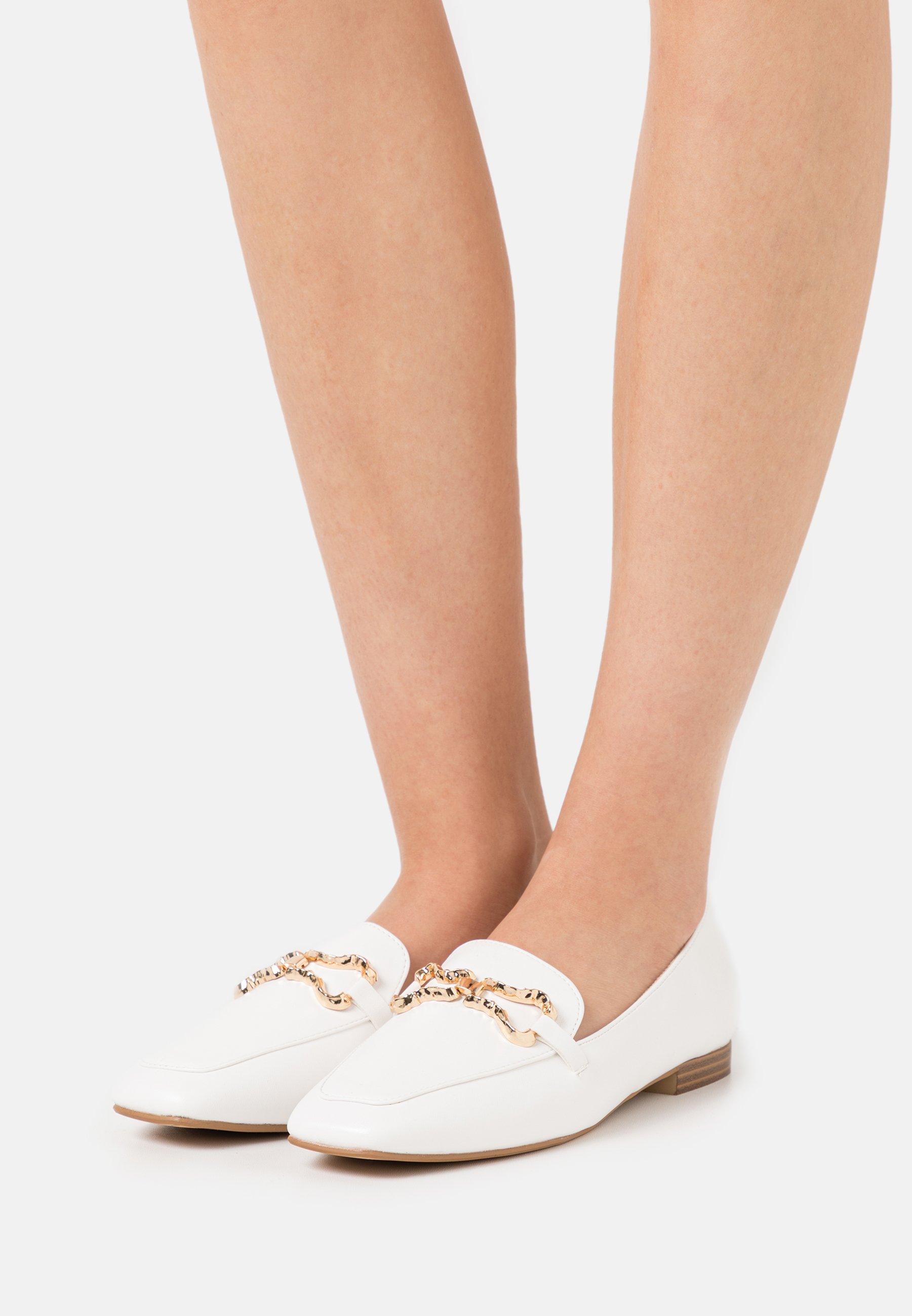Women CLARETA - Slip-ons - white