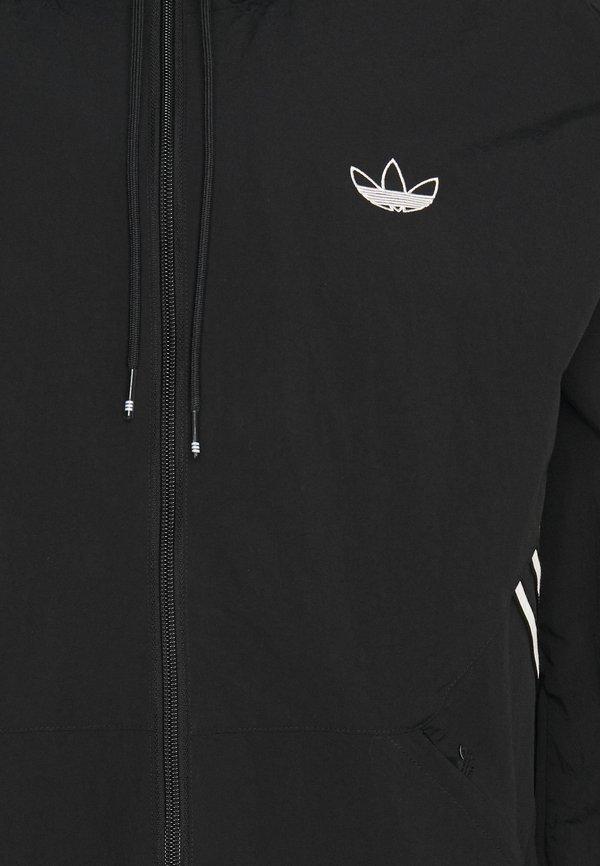 adidas Originals Kurtka wiosenna - black/czarny Odzież Męska OANY