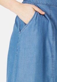 HELMIDGE - A-line skirt - blau - 2