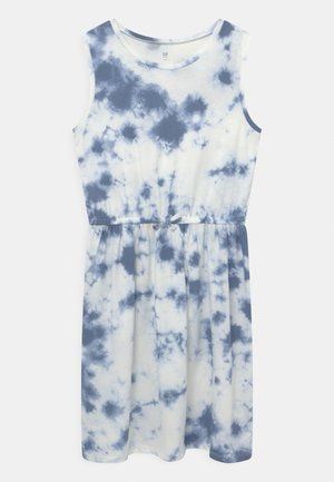 GIRL - Jersey dress - blue