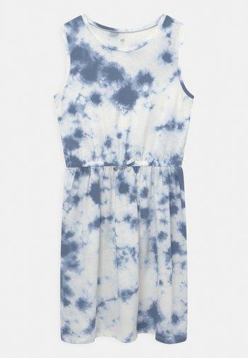 GIRL - Jersey dress - blue