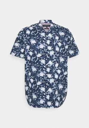 FLORAL CAMO - Skjorta - faded indigo/multi