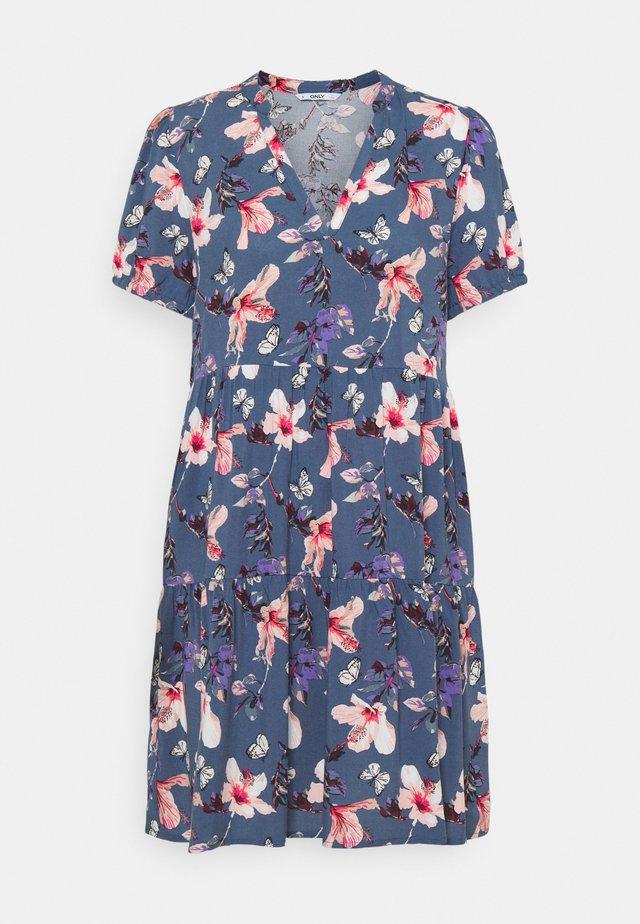 ONLNOVA LIFE THEA DRESS - Kjole - vintage indigo