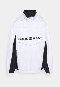 Karl Kani - RETRO BLOCK WINDBREAKER - Summer jacket - white - 0