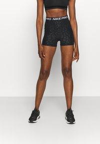Nike Performance - Leggings - black/white - 0