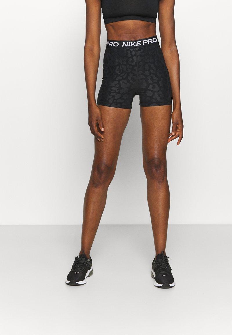 Nike Performance - Leggings - black/white
