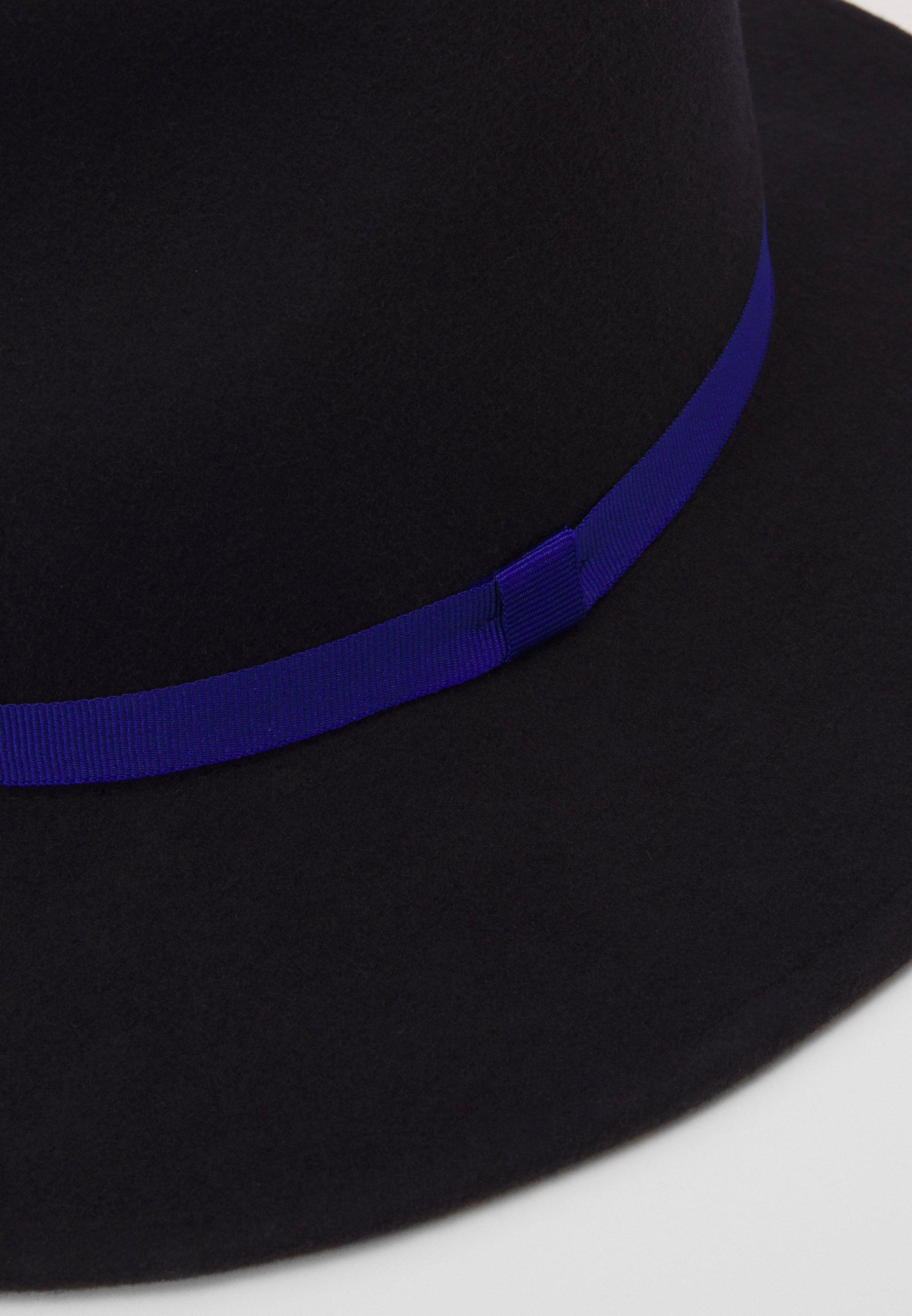 Paul Smith WOMEN HAT LINOCUT FEDORA - Hatt - navy/mørkeblå 1HrCD6IhvqVTUXQ