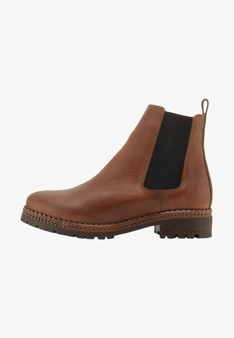 COX - Classic ankle boots - mittelbraun