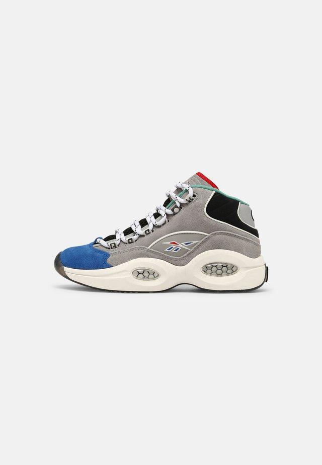 QUESTION MID UNISEX - Sneakersy wysokie - grey