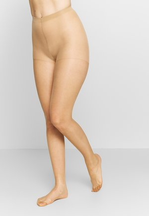 SHEER THIGHS BEAUTY 2 PACK - Strumpfhose - ambre