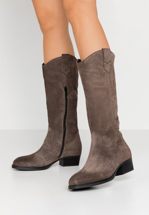BOOTS  - Cowboy/Biker boots - taupe