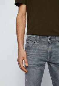 BOSS - DELAWARE  - Slim fit -farkut - grey - 3