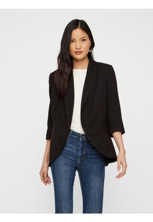 BLAZER 374 SLEEVED - Blazer - black