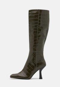 Jeffrey Campbell - HUXTABLE - Vysoká obuv - khaki/stone - 1