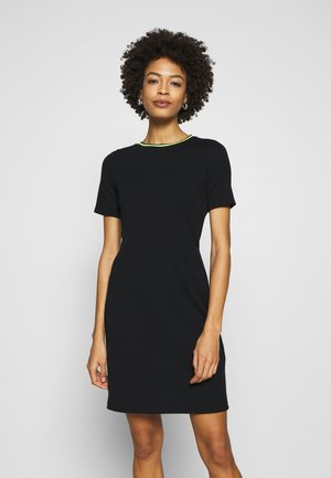 TAPE DRESS - Shift dress - navy