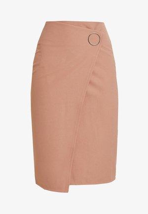 WEST SKIRT - Pouzdrová sukně - blush