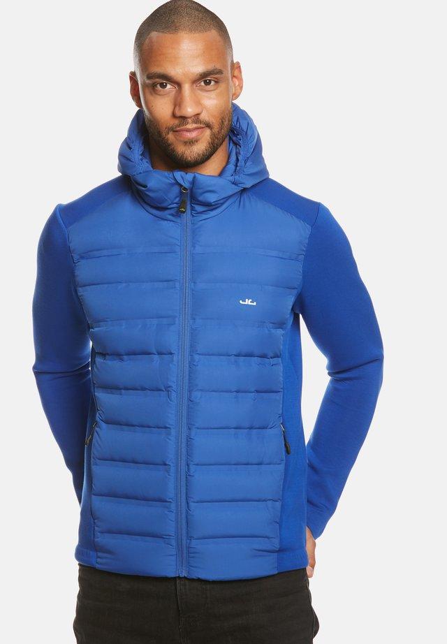 ENNO HYBRID - Gewatteerde jas - blue