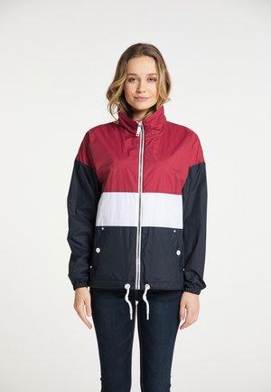 Summer jacket - rot nachtblau