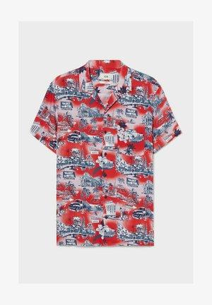 Shirt - dark red