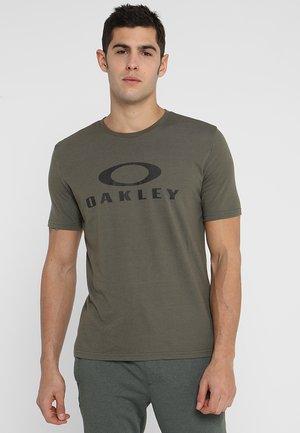 BARK - T-shirt con stampa - dark brush