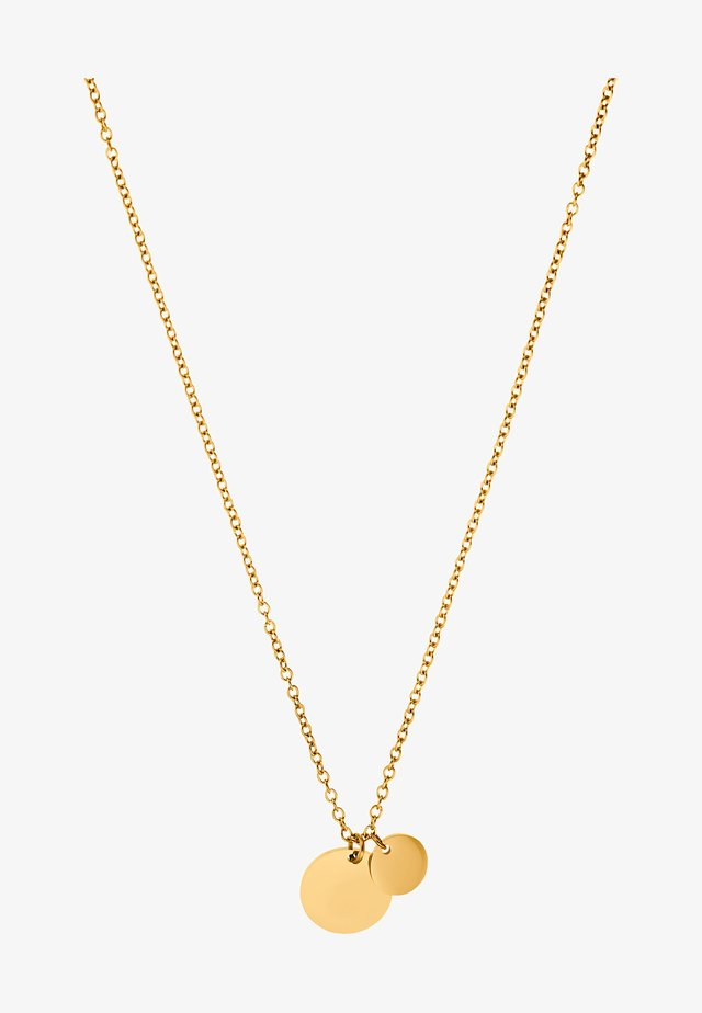 Halsband - goldfarbend