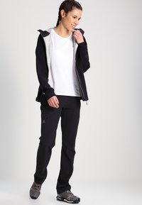 Salomon - WAYFARER - Trousers - black - 1