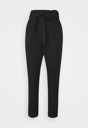 ONLFRESH PAPERBAG PANT  - Pantalones - black