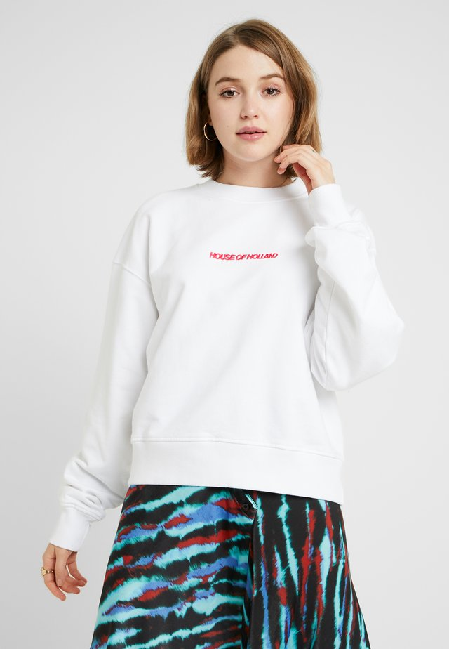 BRANDED - Sweater - white