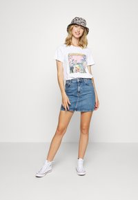 Noisy May - NMSAGA NATE  - T-shirt con stampa - bright white - 1