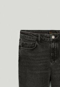 Massimo Dutti - Straight leg jeans - black - 2