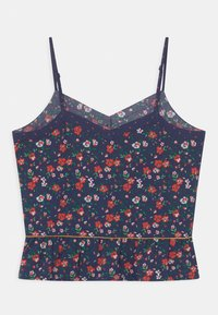 Kaporal - FLORAL CROPPED - Top - navy - 1
