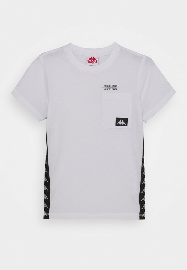 HELAN - T-shirt imprimé - bright white