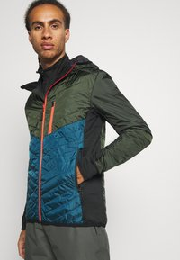 Mons Royale - ARETE INSULATION HOOD - Outdoor jacket - atlantic/rosin - 3