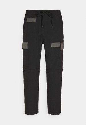 ZIP OFF - Cargobroek - blacks