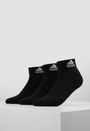 CUSH ANK 3 PACK - Sports socks - black