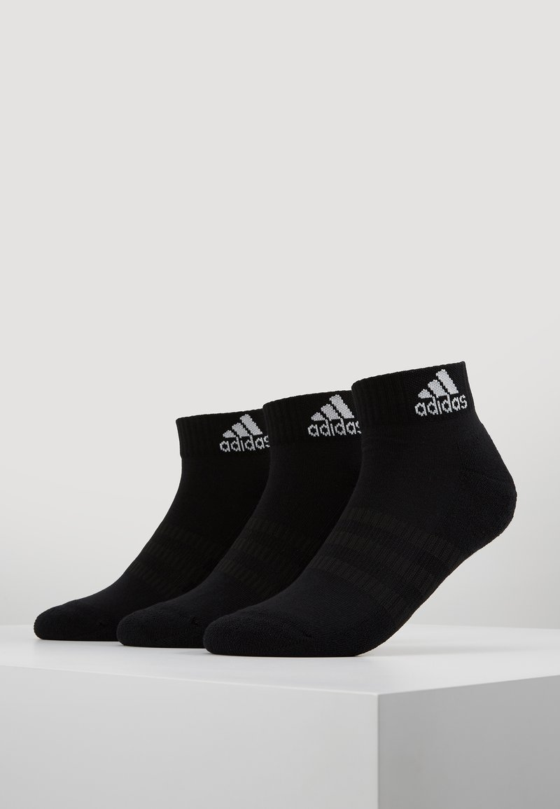 adidas Performance - CUSH ANK 3 PACK - Sports socks - black