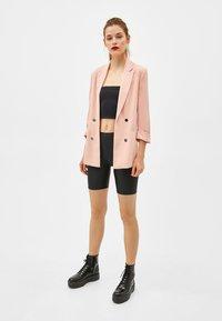 Bershka - Short coat - rose - 1