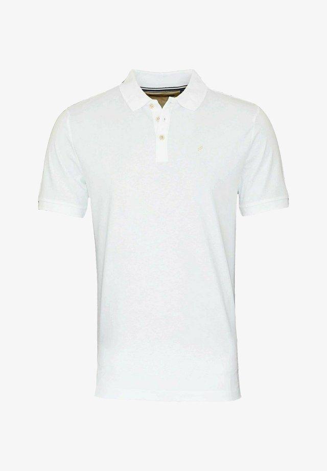 Poloshirt - weiss